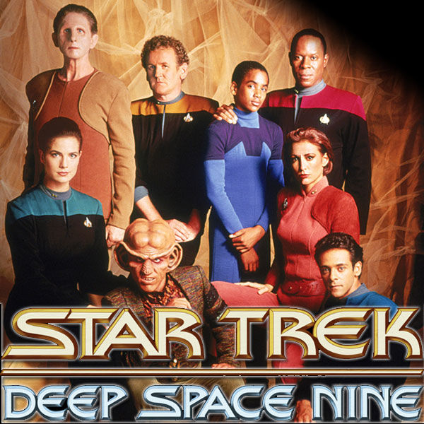 The cast of Star Trek: Deep Space Nine.